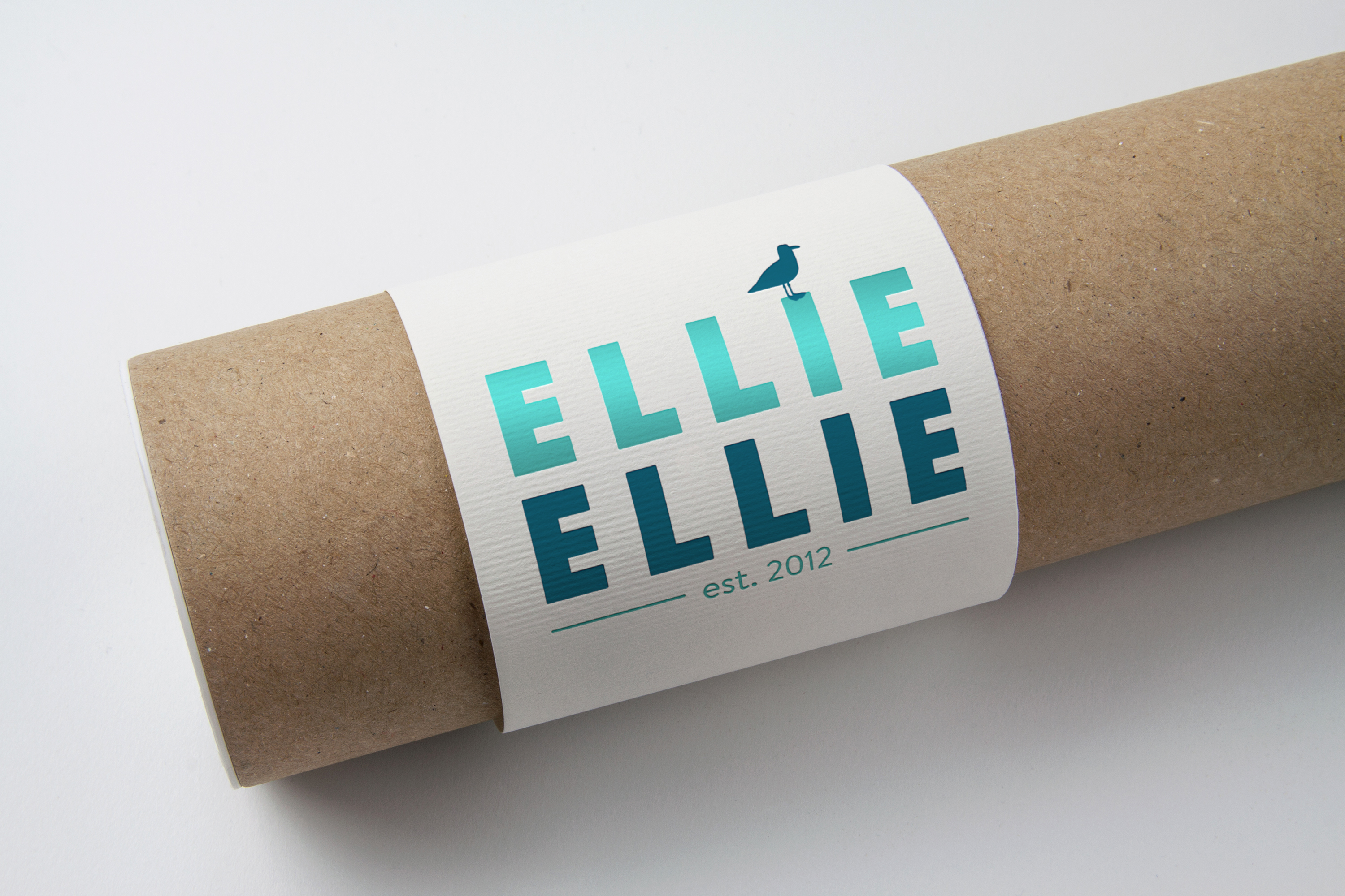 Ellie Ellie label design work