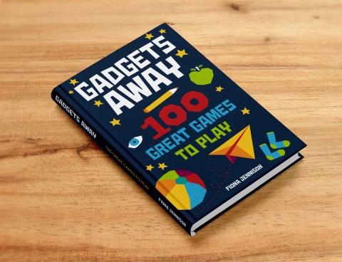 Gadgets Away book cover design