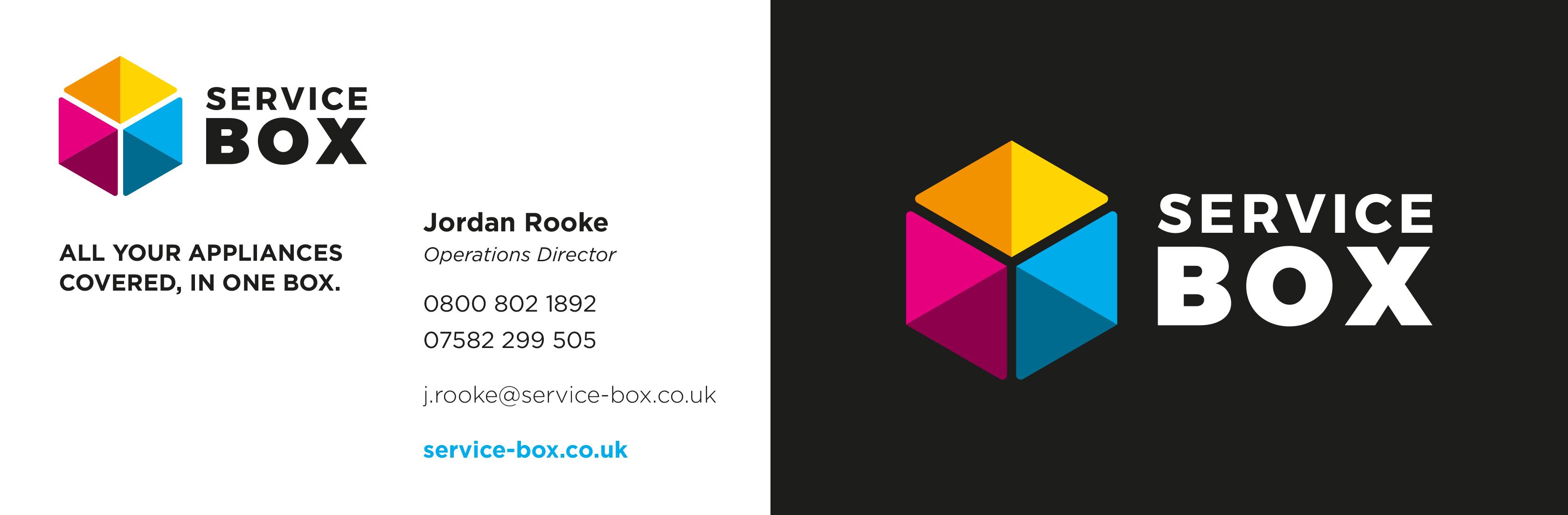Service Box logo design
