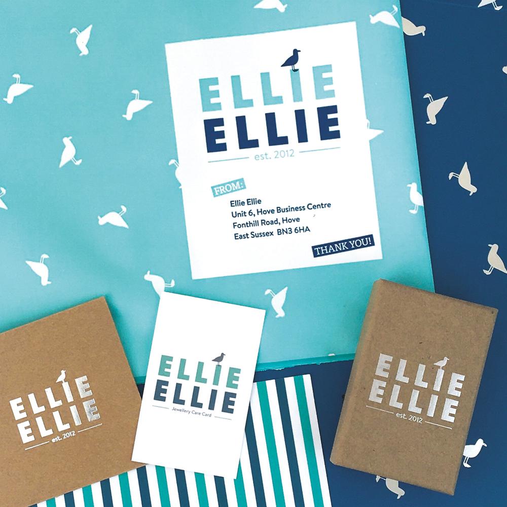 Ellie Ellie rebrand design image