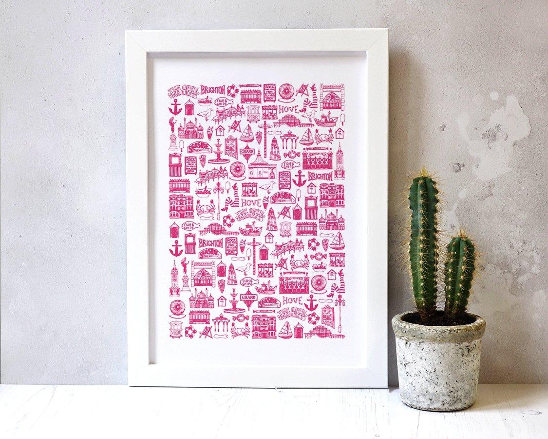 Worthing illustrators and designers pop up shop
