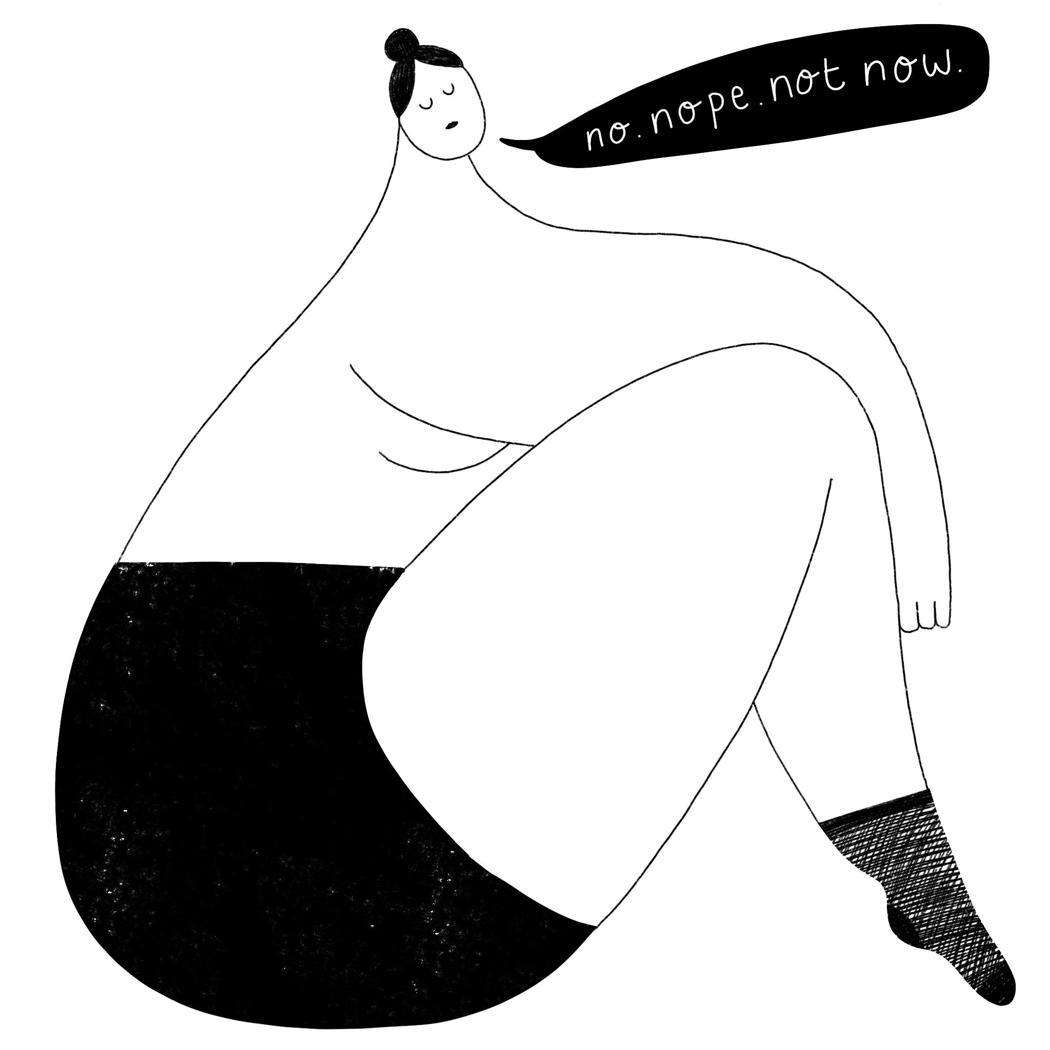 Illustration by Lisa Bamford in Brighton