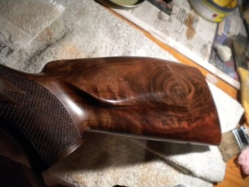 aplicación aceite culata rifle