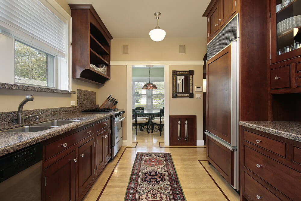 Small Galley Kitchen Design Layout Ideas