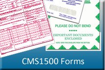 CMS 1500 Forms and Envelopes