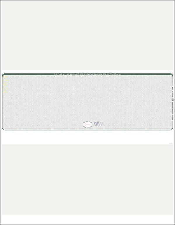Middle Green Hologram blank laser check WLSTK2SVHHG