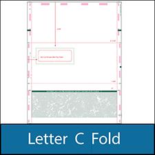 Letter C Fold