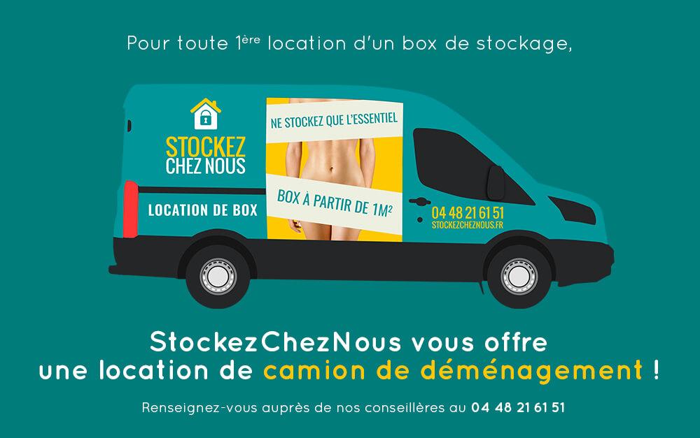 location box de stockage et garde