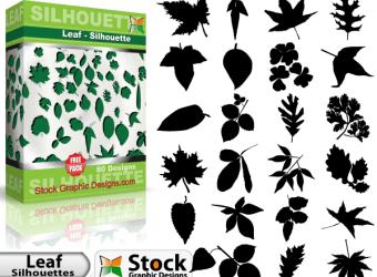 free-illustrator-vectors-leaf-silhouettes-l