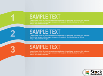 number-list-infographic-banner-vector