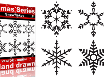 snowflakes_vector_brush