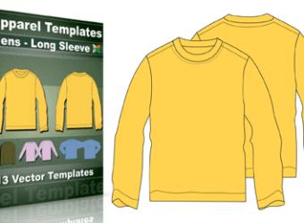 t-shirt_templates_mens_long_sleeve