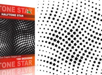 vector_and_brush_halftone_star
