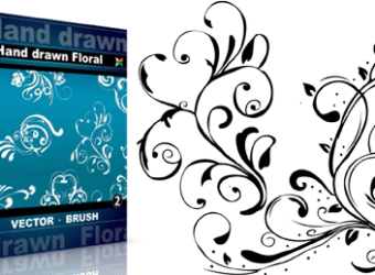 Vector_brush_hand_drawn_floral-2