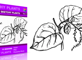 vector_brush_sketchy_plants_3