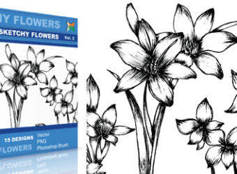 vector_sketchy_flowers_2_