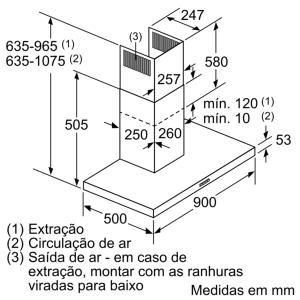 CHAMINÉ BALAY 3BC097GNC