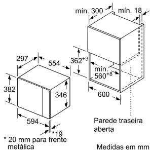 MICRO ONDAS BALAY 3CP5002A0