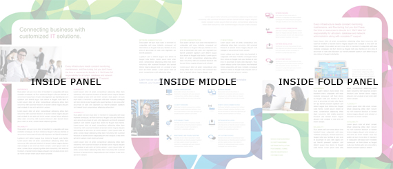 Tri-Fold Brochure Inside Layout