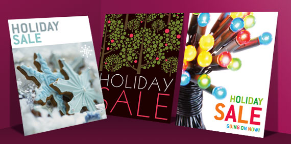 Christmas & Holiday Sale Posters