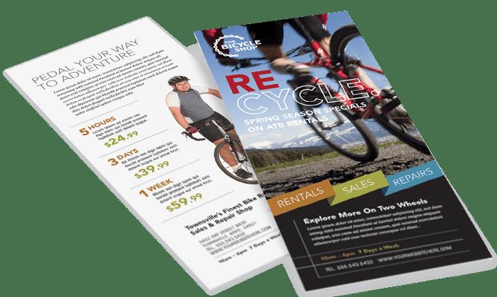 Rack Card Templates Business Rack Card Designs