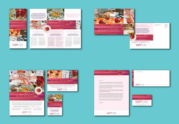 Brand Identity Design Example - Catering Service