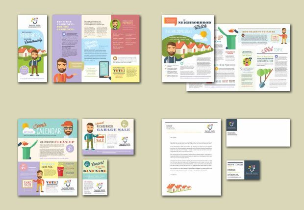 Brand Identity Design - Neighborhood Association