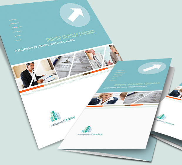 Examples of brochure designs for marketing your business for Graphic design brochure templates