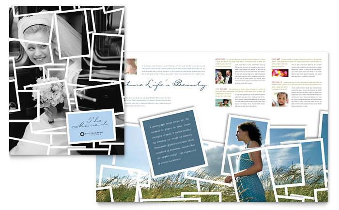 Photographer Brochure Design Idea - Brochure Cover