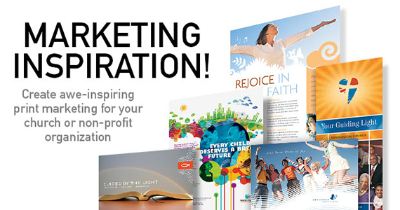 Church & Non Profit Marketing Inspiration! | StockLayouts Blog