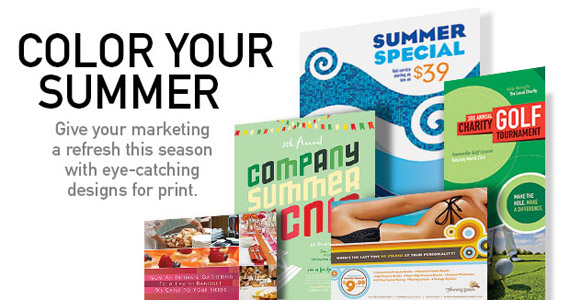 Business Marketing Templates – Summer Outdoor Activites