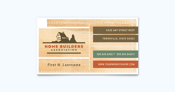 25 graphic design examples of business cards stocklayouts blog construction business card design flashek Images
