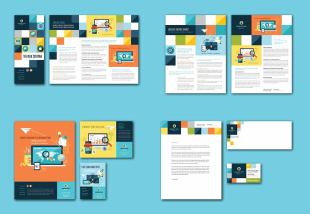 Brand Identity Designs – Examples & Templates | StockLayouts Blog