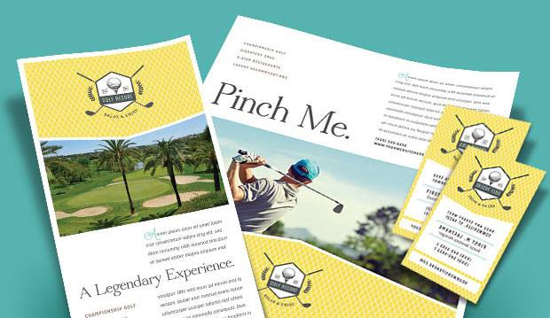 Golf Resort - Marketing Materials