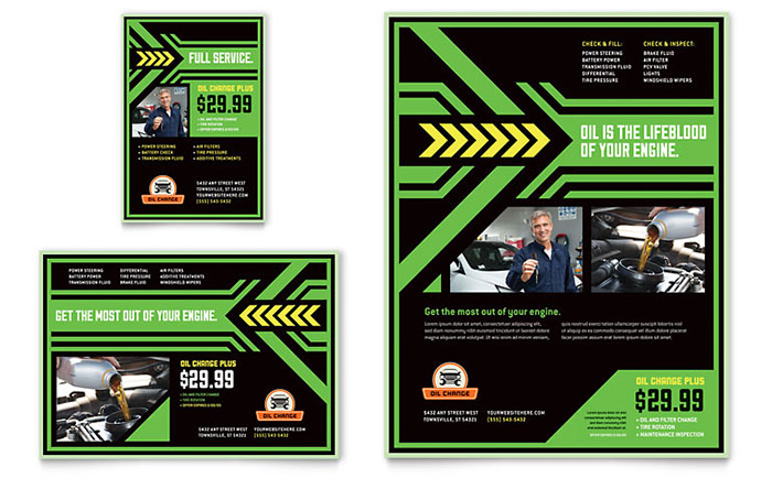 InDesign Flyer Template Idea