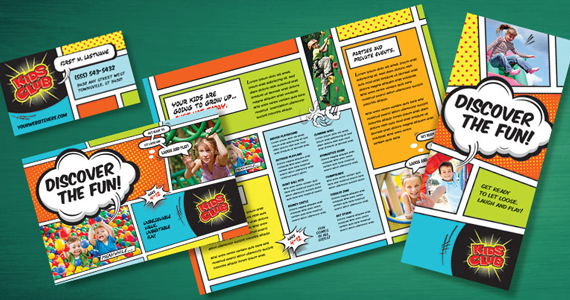 Business Marketing Templates – Kids Club