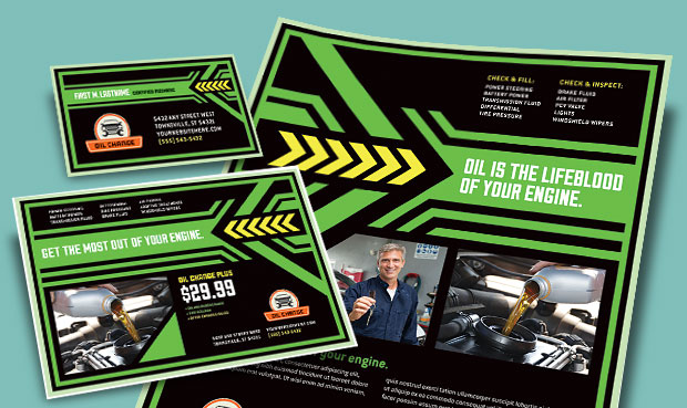 Oil Change Flyers & Advertisements - Marketing Auto Maintenance Services