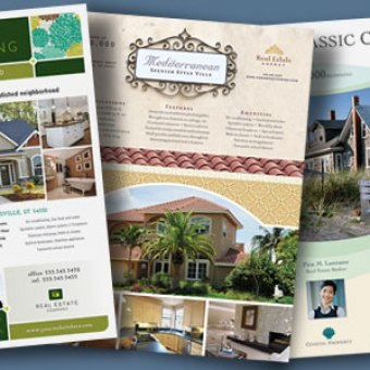 7 real estate flyers that get noticed stocklayouts blog