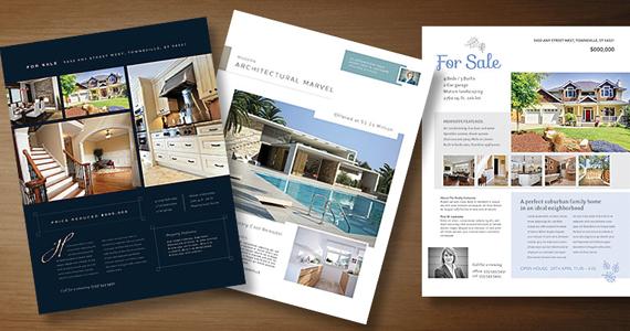 Real Estate Marketing Flyer Templates