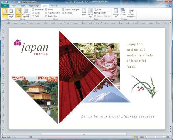 Changing Shape Fill in Postcard