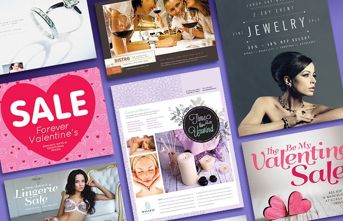 Valentine's Day Graphic Designs for Marketing Your Business