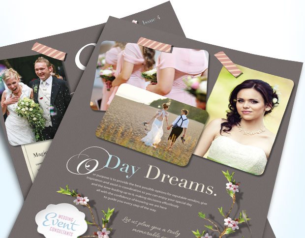 Wedding Planner - Event Planner - Business Marketing Templates