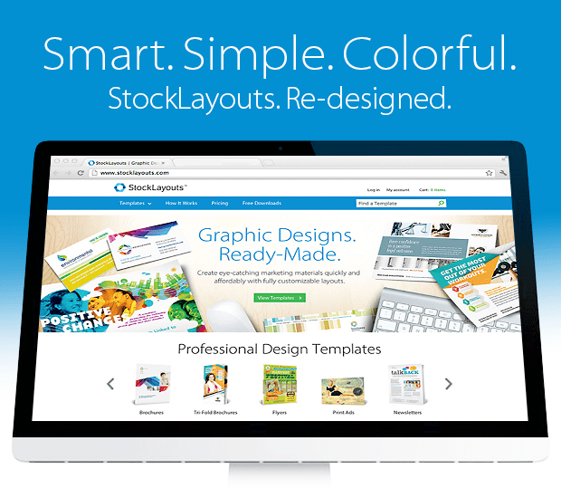 StockLayouts Website Re-Design 2014