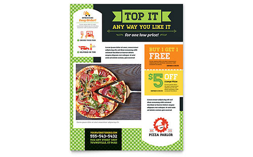 Food Amp Beverage Flyers Templates Amp Design Examples