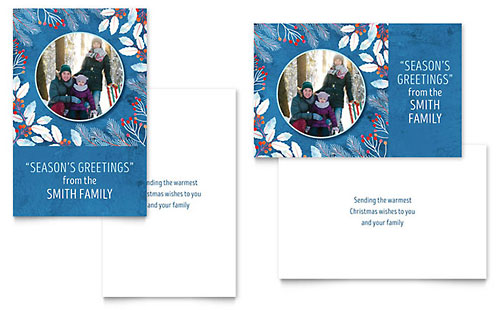 Greeting Card Templates Holiday Card Designs Amp Layouts