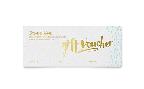 Free Gift Certificate Templates Download Ready Made Designs