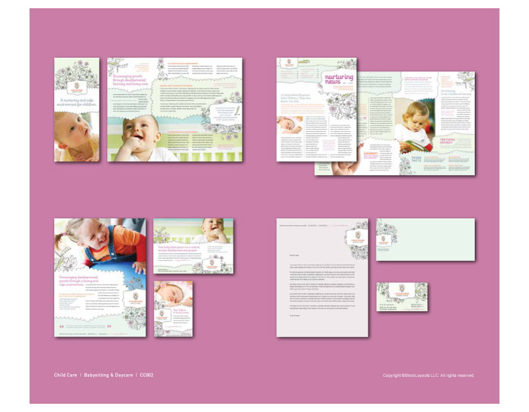 Baby & Child Daycare Catalog Page