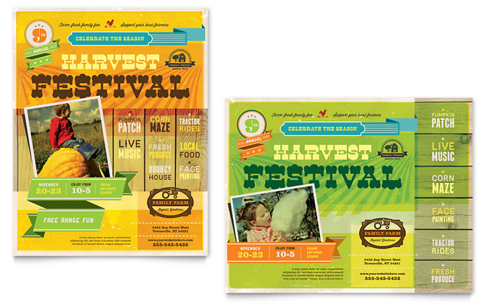 Poster Sample - Farm Harvest Festival