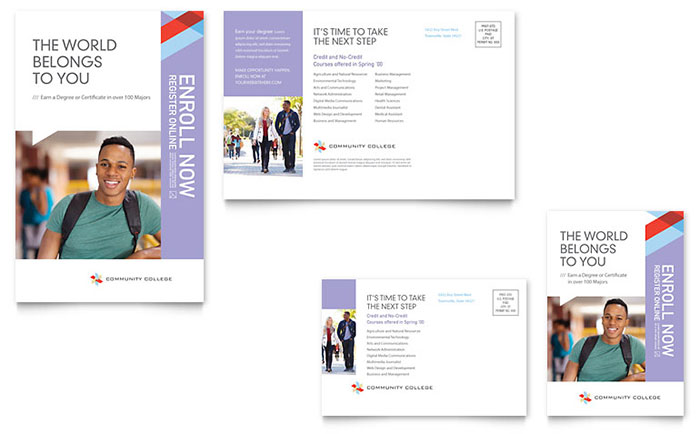Design Marketing Materials For A Community College StockLayouts Blog - College brochure templates