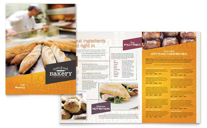 Menu Example - Artisan Bakery